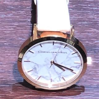 クリスチャンポー(CHRISTIAN PEAU)の未使用 CHRISTIAN PAUL クリスチャンポール 腕時計 43mm(腕時計)