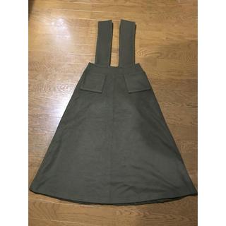デミルクスビームス(Demi-Luxe BEAMS)のジャンパースカート(ひざ丈スカート)