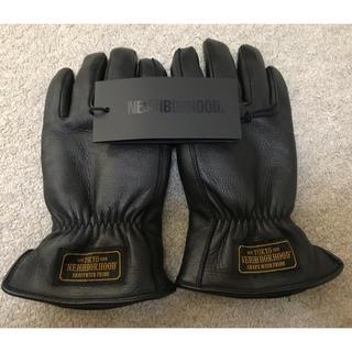 ネイバーフッド(NEIGHBORHOOD)のNEIGHBORHOOD ネイバーフッド レザー グローブ 手袋 GLOVE(手袋)
