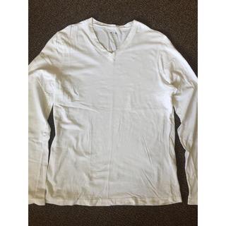 スリードッツ(three dots)のTHREE DOTS Vネック カットソー(Tシャツ/カットソー(七分/長袖))