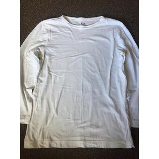 スリードッツ(three dots)のTHREE DOTS Uネック カットソー(Tシャツ/カットソー(七分/長袖))