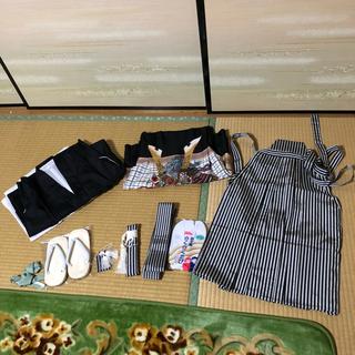 七五三 5歳 男の子 羽織袴フルセット(和服/着物)