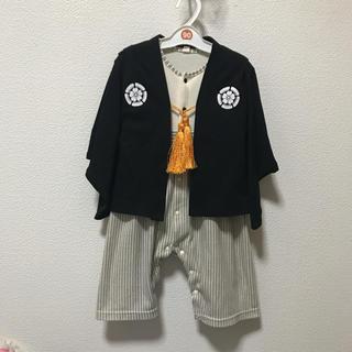 袴 ロンパース 90(和服/着物)