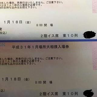 平成31年1月場所大相撲18日金曜日(相撲/武道)