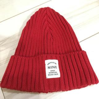 ナインルーラーズ(NINE RULAZ)のNINE ニット帽(ニット帽/ビーニー)