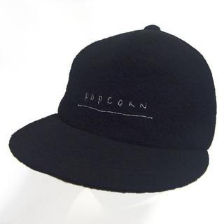 カシラ(CA4LA)のCA4LA カシラ ポップコーン POPCORN キャップ 帽子 ウール 起毛(キャップ)