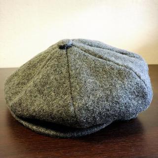 ニューヨークハット(NEW YORK HAT)の【新品】NEW YORK HATベレー帽 ニュースボーイキャスケット ハンチング(ハンチング/ベレー帽)