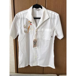 キャリー(CALEE)の CALEE  キャリー  ドラゴン  シャツ  刺繍  半額以下(シャツ)