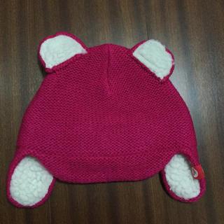 Roxy クマ耳ニット帽