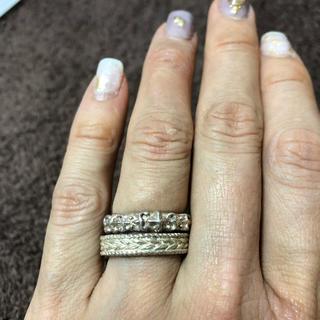 ローリーロドキン(Loree Rodkin)のラブアンドヘイト 指輪 2個セット(リング(指輪))