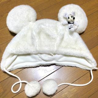 Disney - ディズニー 耳つき 帽子 ♡