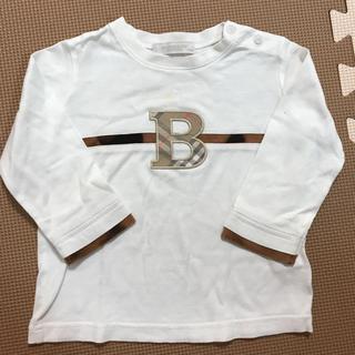 バーバリー(BURBERRY)の☆難ありBURBERRYTシャツ80㌢☆(Tシャツ)