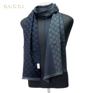 グッチ(Gucci)の【28】GUCCI マフラー 男女兼用 WOOL100% (マフラー)