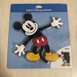 ディズニー(Disney)のディズニーリゾート購入品 スマホスタンド ミッキー(その他)