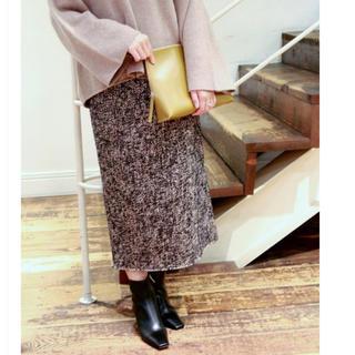 プラージュ(Plage)のplage Tweed タイトスカート36(ひざ丈スカート)