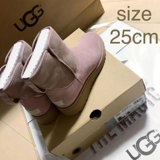アグ(UGG)の未使用 UGG アグ ブーツ ショートブーツ ムートンブーツ(ブーツ)