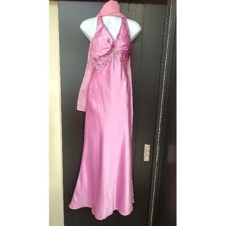 スパイシーマーマレード(SPICY MARMALADE)のショール付き 新品 ロングドレス スパイシーマーマレード 9号(ロングドレス)