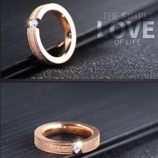 指輪 ピンクゴールド リング(リング(指輪))