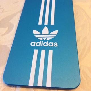 アディダス(adidas)のadidas iPhone6 ブルー(モバイルケース/カバー)