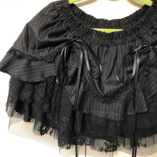 キスキス(XOXO)のXOXO 多重レーススカート(ミニスカート)