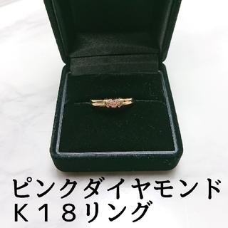 スタージュエリー(STAR JEWELRY)の貴重!!■ピンクダイヤモンドリング■(リング(指輪))