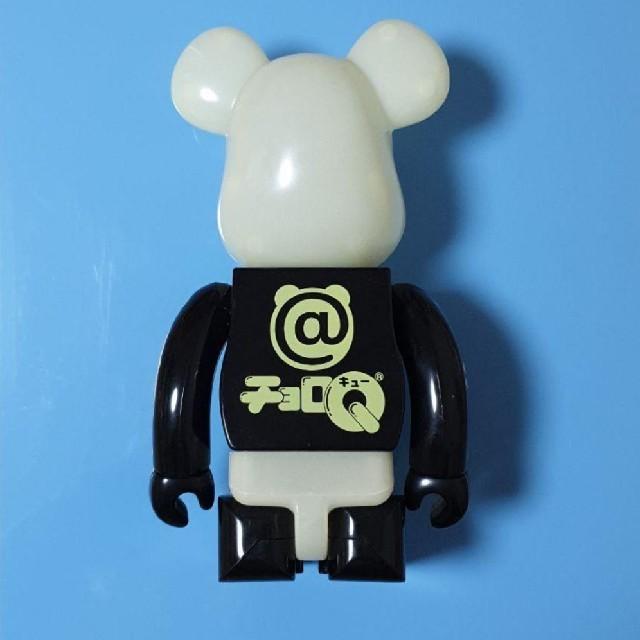 MEDICOM TOY(メディコムトイ)の【特価】ベアブリック bearbrick チョロQ 400% 蓄光 エンタメ/ホビーのおもちゃ/ぬいぐるみ(キャラクターグッズ)の商品写真