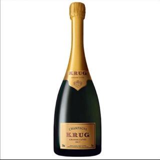 クリュッグ(Krug)のクリュッグ シャンパン 新品 送料こみ(シャンパン/スパークリングワイン)