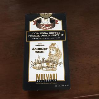コナ(Kona)のMALVADI   コナコーヒー  100%   インスタント(コーヒー)