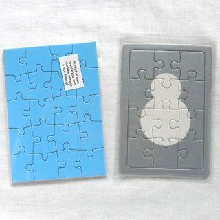 パズル型 グリーティングカード 2種セット(その他)
