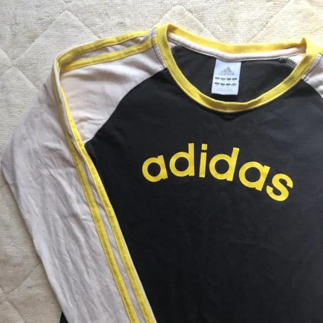 adidas(アディダス)のadidas 長袖Tシャツ xs レディースのトップス(Tシャツ(長袖/七分))の商品写真