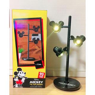 ディズニー(Disney)の年末セール!新品 未開封 ミッキーマウス プレミアム3灯LEDライト(テーブルスタンド)