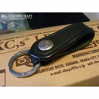 ケイシイズ(KC,s)のKC.s 1 ケイシイズワン【BLACK】キーリング(キーホルダー)