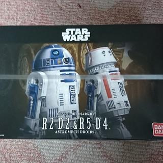 バンダイ(BANDAI)のバンダイ R2-D2&R5-D4 プラモデル スターウォーズ(SF/ファンタジー/ホラー)