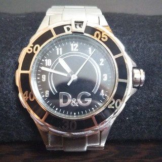 D&G 腕時計 メンズ 回転ベゼル