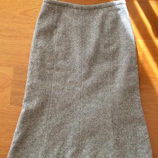 ヌール(noue-rue)のフランドル スカート(ひざ丈スカート)