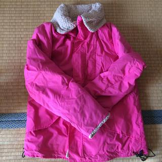 ジーユー(GU)のボア コート ピンク 防寒(毛皮/ファーコート)