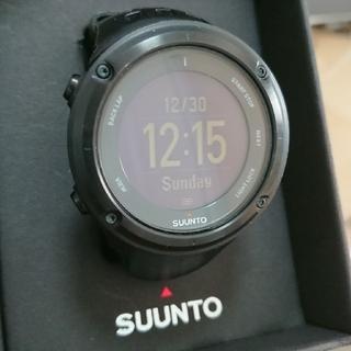 スント(SUUNTO)のSUUNTO Ambit2 ブラック(腕時計(デジタル))