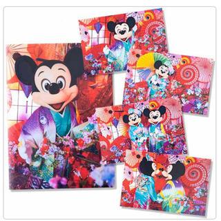 ディズニー(Disney)のディズニー   イマジニングザマジック   ミッキー  ポストカードセット(写真/ポストカード)