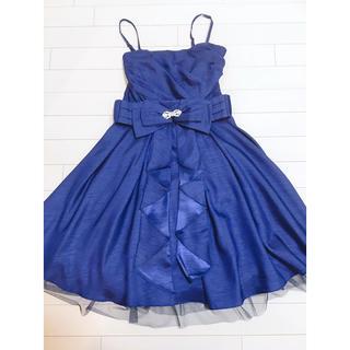 パウダーシュガー(POWDER SUGAR)のパウダーシュガー♡パーティードレス♡ブルー(その他ドレス)