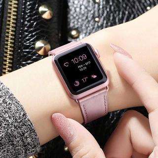 アップルウォッチ(Apple Watch)のApple watch バンド【ローズ】40/38cm(ベルト)