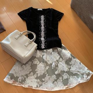 バイバイ(ByeBye)の美品♡バイバイ シフォン スカート(ひざ丈スカート)
