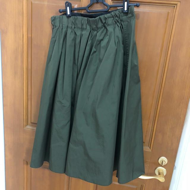dfa60ee9a447b3 ZARA - ザラ カーキナイロンスカートの通販 by ha@shop|ザラならラクマ