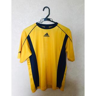 アディダス(adidas)のadidas アディダス シャツ 黄色 サイズ160(ウェア)