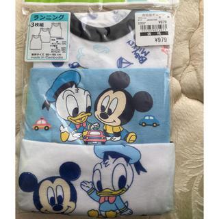 ディズニー(Disney)のディズニー ミッキー ドナルド タンクトップ肌着(肌着/下着)