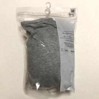 無印良品 オーガニックコットンリブ カップ付キャミソール /カップ縫い付けタイプ