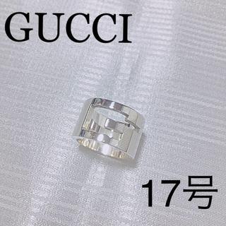 グッチ(Gucci)のGUCCIブランデッドGリングワイド(リング(指輪))