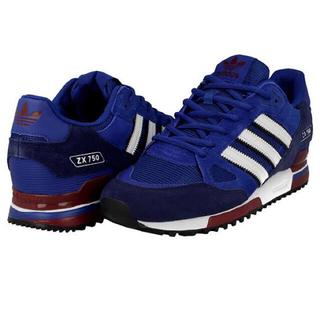 アディダス(adidas)のadidas ZX750 ブルー 26.0(スニーカー)