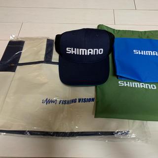 シマノ(SHIMANO)のSHIMANO 帽子 トートバック(その他)