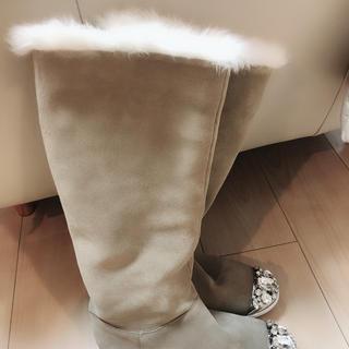ミュウミュウ(miumiu)のミュウミュウ (ブーツ)