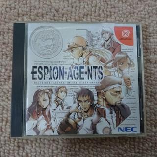 エヌイーシー(NEC)のDC ドリームキャスト エスピオネージェンツ(家庭用ゲームソフト)